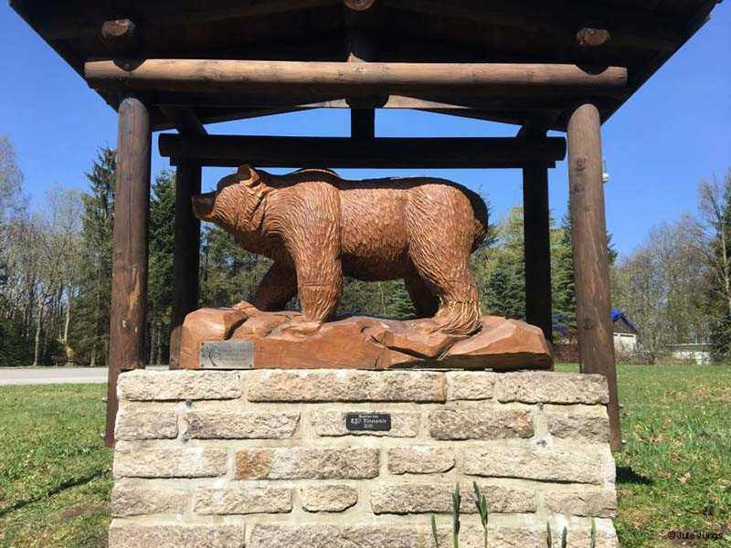 Bären-Denkmal auf dem Bärenstein