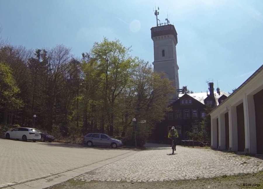 oben auf dem Pöhlberg